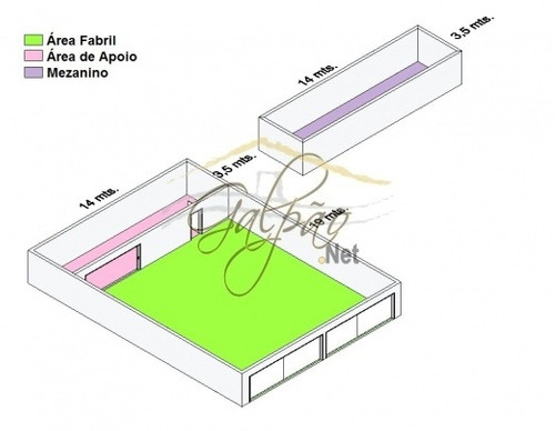 aluguel galpão osasco  brasil - 655-a