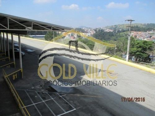 aluguel galpão santana de parnaíba  brasil - 436-a