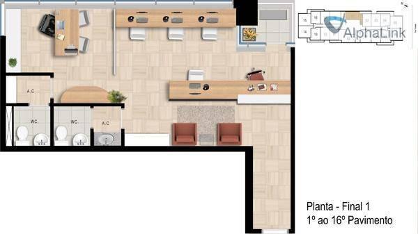 aluguel investido mpd - office bethaville - barueri - sa0167