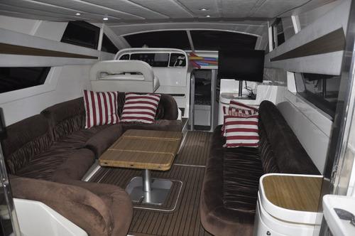 aluguel lancha passeio barco intermarine 44 guaruja bertioga