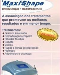 aluguel  - lipocavitação + radiofrequência maxishape
