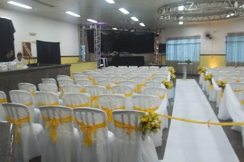 aluguel locação 100 capa p/cadeira 149,90 casamento debutant