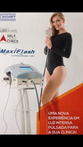 aluguel locação luz pulsada maxiflash bioflash sp e interior