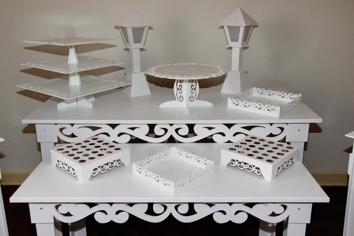 aluguel   locação mesa decorativa provençal festa - kit 5. Carregando zoom. 4958f1077f8