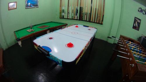 aluguel locação mesa sinuca bilhar pebolim air hockey