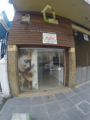 aluguel - loja de rua no centro de nova iguaçu
