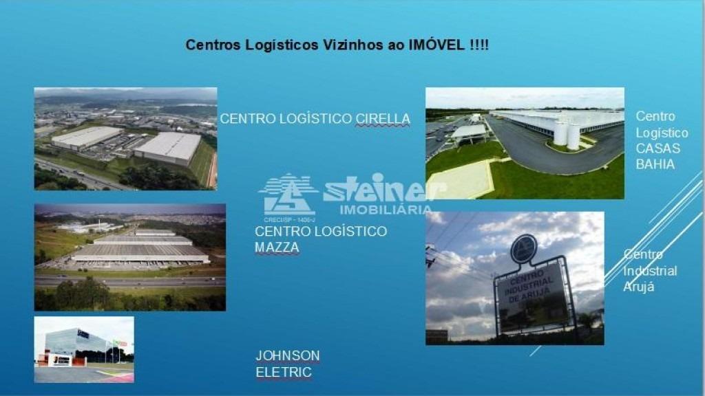 aluguel ou venda área industrial centro industrial arujá r$ 200.000,00   r$ 54.000.000,00