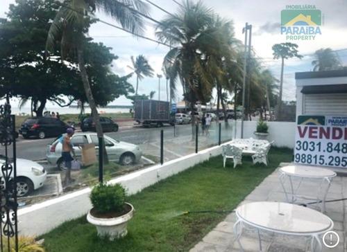 aluguel ponto comercial beira mar -  praia do cabo branco - joão pessoa - pb - pt0013