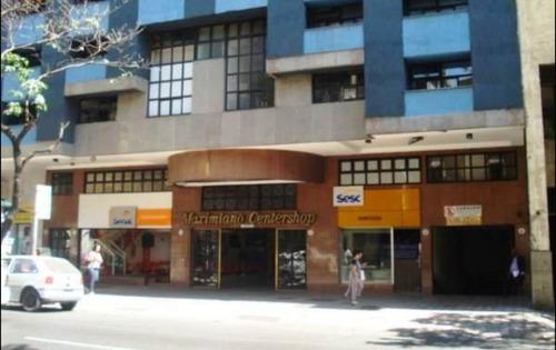 aluguel - sala comercial com 30m² no barro preto. - 1378
