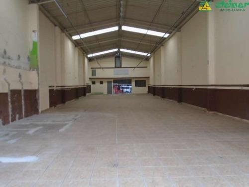 aluguel salão comercial acima de 300 m2 centro guarulhos r$ 9.000,00