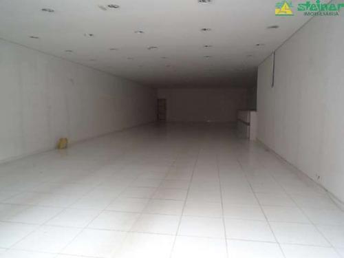 aluguel salão comercial até 300 m2 centro guarulhos r$ 6.000,00