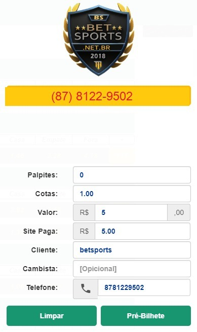 a8b29a4cb Aluguel Sistema De Apostas Esportivas - Monte Sua Banca - R  150 ...