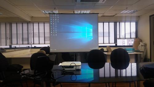 aluguel telão datashow projetor locação whatsap 99675-2223