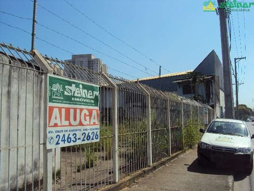 aluguel terreno acima 1.000 m2 até 5.000 m2 parque cecap guarulhos r$ 15.000,00