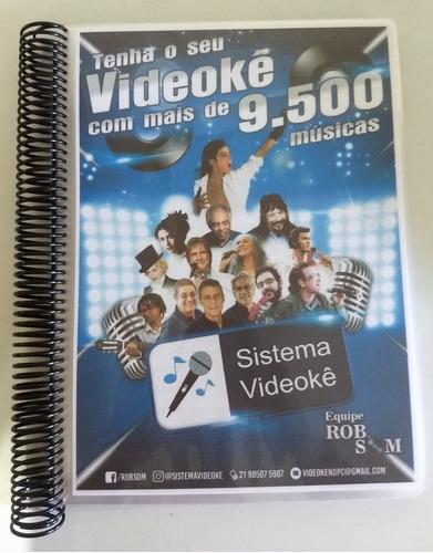 aluguel videokê 10.000 músicas atuais