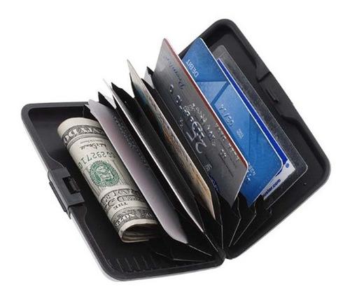 aluma tarjetero cartera aluminio billetera wallet