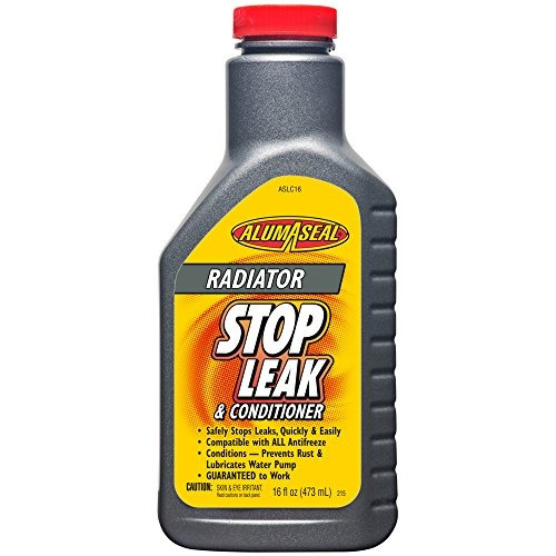 alumaseal aslc16 radiator stop leak and conditioner liquid