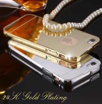 f1ec6caa1be Aluminio 4/5/5s/ 6/6s/6plus iPhone Tipo Espejo - $ 199.00 en Mercado Libre