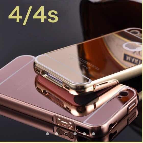 e6ae292239c Aluminio 4/5/5s/ 6/6s/6plus iPhone Tipo Espejo - $ 199.00 en Mercado ...