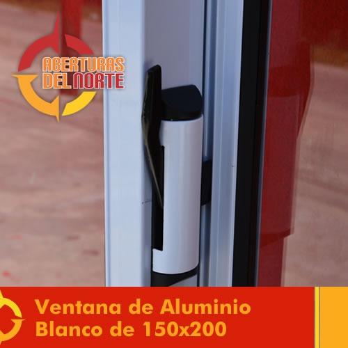 aluminio con ventana