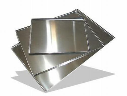 aluminio liso en laminas o rollos de 44 centimetros ancho