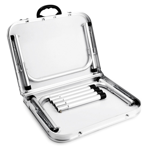 aluminio plegable campamento mesa laptop