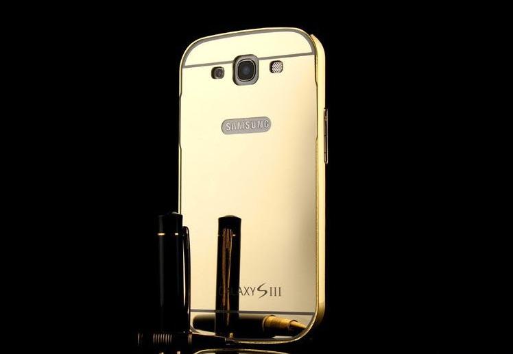 Forro Lujo Aluminio Samsung S3 S4 S5 S6 S7 Edge S8 S8 Plus