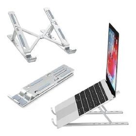 Aluminio Soporte Para Laptop, Plegable, Portátil Y Ajustable