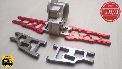 aluminio traxxas slash rustler stampede bandit 4x4 4x2 2wd