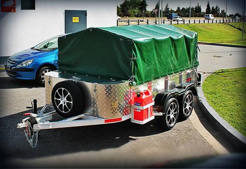 alutrail trailer aluminio para cargas generales