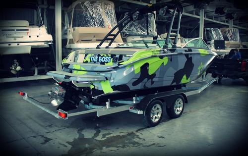 alutrail trailer aluminio para lancha 21 pies