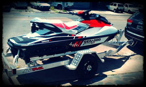 alutrail trailer aluminio para moto de agua en stock