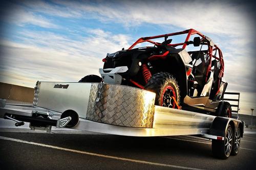 alutrail trailer aluminio utv todos can an polaris yamaha