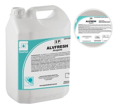 alvfresh alvejante s/ cloro 05 lts limpeza de estofados 5l
