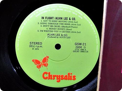 alvim lee&co. in flight.japan.duplo.raro. ano 1974.zerado!!