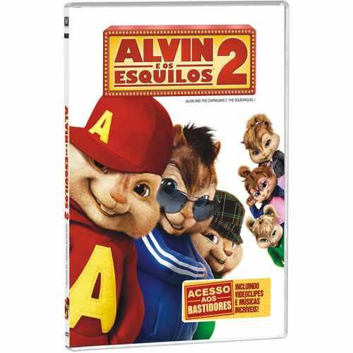 alvin e os esquilos 2 - dvd lacrado