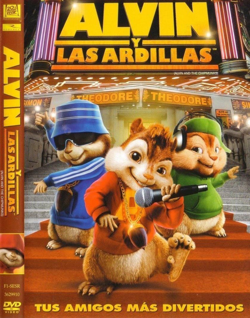 Alvin Y Las Ardillas 1, 2 Y 3 Dvd - $ 100,00 en Mercado Libre