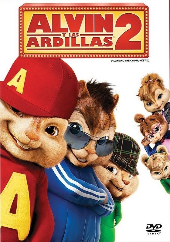 Alvin Y Las Ardillas 2 Dos Pelicula Dvd - $ 189.00 en ...