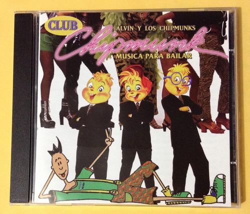 alvin y los chipmunks  - club chipmunk - música para bailar