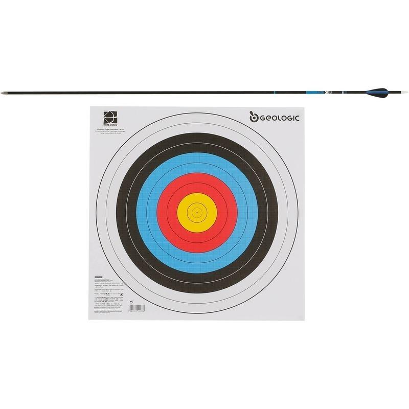 7cd81133c Alvo De Papel Para Arco E Flecha World Archery Geologic 4und - R ...