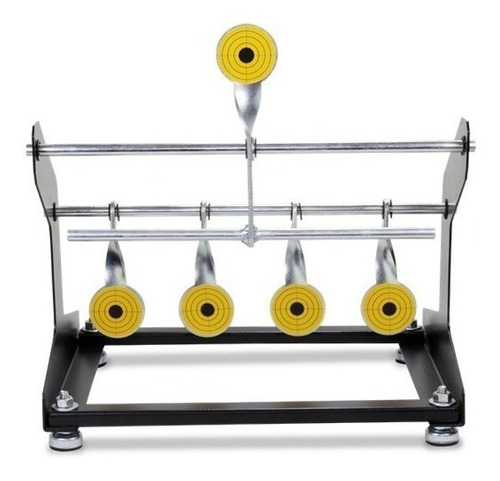 alvo metal aberto 5 pêndulos gamo hatsan nitro x quickshot