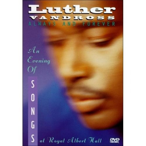 always and forever, luther vandross. dvd importado.