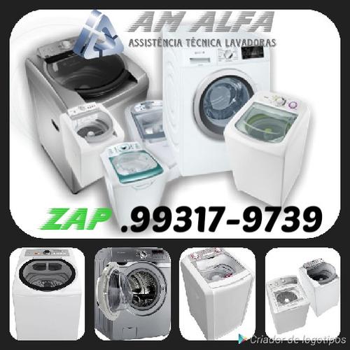 am alfa assistência técnica em máquinas de lavar.
