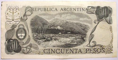am - argentina 50 pesos - 1976 p-301