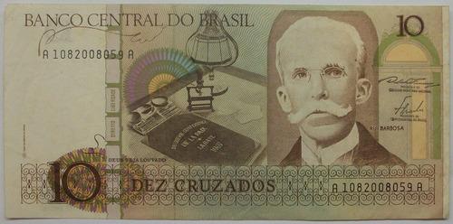 am - brasil 10 cuzados - 1986 p-209a
