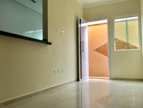 am134 - casa 2 dorms- finíssimo acabamento - 300 metros prai