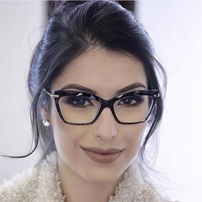 5c6c52806 Modelo De Oculos Grau Gatinha - Óculos no Mercado Livre Brasil