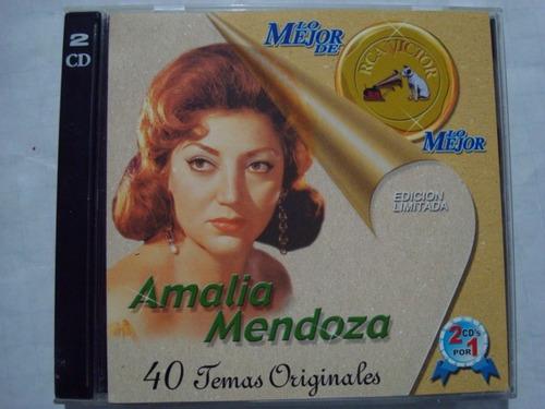 amalia mendoza --40 temas originales