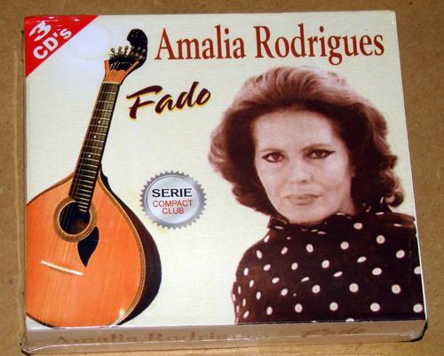 amalia rodrigues fado 3 cd nuevo sellado