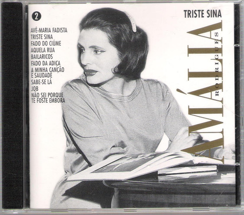 amalia rodrigues triste sina (fado) cd